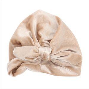 Other - Brand New Velvet Baby Girl Turban Size 0-24 Months